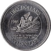 2 Dollars - Sylvan Lake, Alberta – reverse