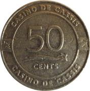 50 Cents - Casino de Cassis – obverse