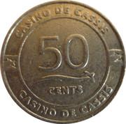 50 Cents - Casino de Cassis – reverse