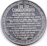 Token - 10 Commandments – obverse