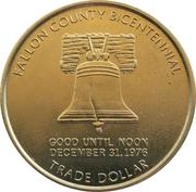 1 Trade Dollar - Baker, Montana – reverse