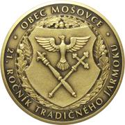 Mošovský jarmok 2015 – reverse