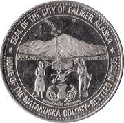 Palmer Dollar - Palmer, Alaska – obverse