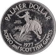 Palmer Dollar - Palmer, Alaska – reverse