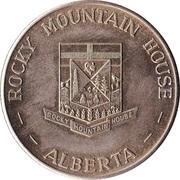 Token - Rocky Mountain House, Alberta (Centennial) – reverse