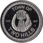 Medallion - Two Hills, Alberta (50th Anniversary) – reverse