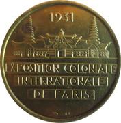 Token - Exposition Coloniale Internationale (Oceanie) – reverse