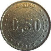 50 Cents - Casino Berck (Groupe Partouche) – obverse