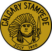5 Stampede Dollars - Calgary, Alberta – obverse