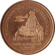 2 Dollars - Yellowknife, North-West Territories – reverse
