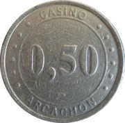 50 Centimes - Casino d'Arcachon (Groupe Partouche) – obverse