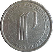 50 Centimes - Casino d'Arcachon (Groupe Partouche) – reverse