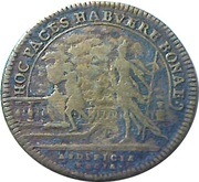 Token - Louis XIV (Hoc Paces Habuere Bonae) – reverse