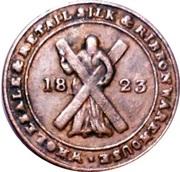 ¼ Penny (Edinburgh - Caverhill & Co.) – obverse