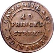 ¼ Penny (Edinburgh - Caverhill & Co.) – reverse