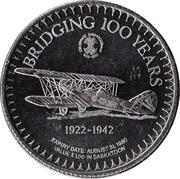 Centennial Dollar - Saskatoon, Saskatchewan – obverse