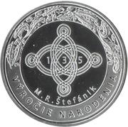 Generál M. R. Štefánik – reverse