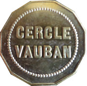 10 Centimes - Cercle Vauban (Dijon) – reverse
