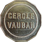 20 Centimes - Cercle Vauabn (Dijon) – reverse