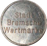 Token - Stadt Bramsche Wertmarke – obverse