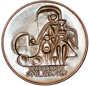 Token - Sveriges Sparbanker (Sparbanken Familjebanken) – reverse