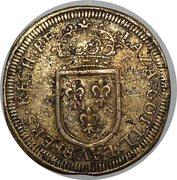 Counter Token - Louis XIV – reverse