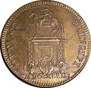 Token - Louis XV (Optimo Principi) – reverse