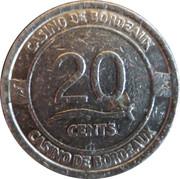 20 Cents - Casino de Bordeaux – obverse