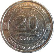 20 Cents - Casino de Bordeaux – reverse