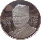 Token - Josip Broz Tito (30 mm; .925) – obverse