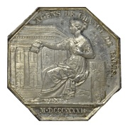 Stockbrokers of the Paris stock exchange - Louis Philippe I – reverse