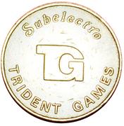 20 Pence - Eurocoin Token (Subelectro Trident Games) – obverse