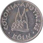 Colonia Taler - Colonia Apotheke (Köln) – obverse