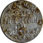 Token - Café Pole Nord (Luxembourg) – obverse