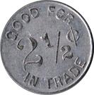2 ½ Cents - Bluebird Alleys, Las Animas (Colorado) – reverse