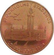 10 Kronor - Stockholm (Stockholms stadion/Stockholms stadshus) – reverse