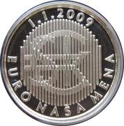 Kremnica Mint Token - Euro Naša Mena – obverse