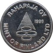 Token - Mint of Finland (L.G. Sundell) – reverse