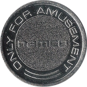 Token - Namco (Only for Amusement) – obverse