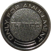 Token - Namco (Only for Amusement) – reverse
