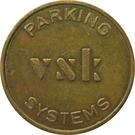 Token - VSK Parking Systems (large font) – obverse