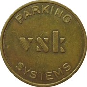 Token - VSK Parking Systems (large font) – reverse