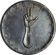 Medallion - 500 Jahre Thurgau – reverse