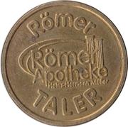 Römer Taler - Römer Apotheke (Altenstadt) – reverse