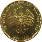 Token - 40 Jahre Bundesrepublik Deutschland (800 Years Hamburg) – reverse