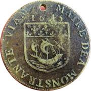 Token - Ile de France - Villes et Noblesse (Jean Scaron, prévot des marchands de Paris) – reverse