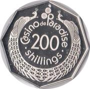 200 Shillings - Casino Paradise – reverse