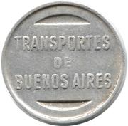 Metro Token - Subte (Buenos Aires) -  reverse