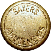 Token - Sayers Amusements – obverse