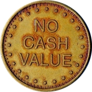 Cat Coin - No Cash Value (With denticles) – reverse